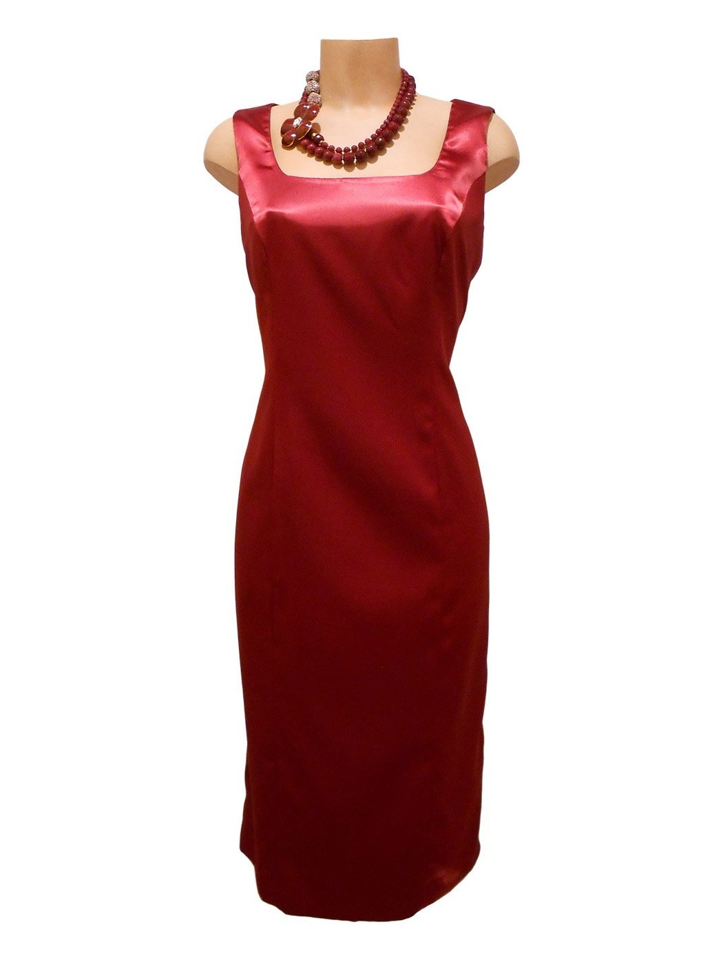 Sukienka i satynowy żakiet Luca Giordani