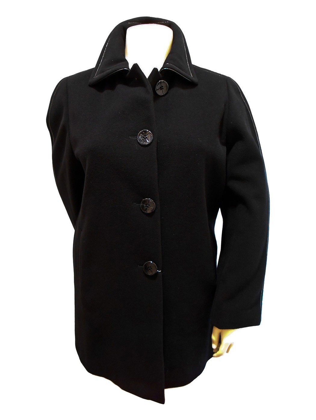 Hella black short coat