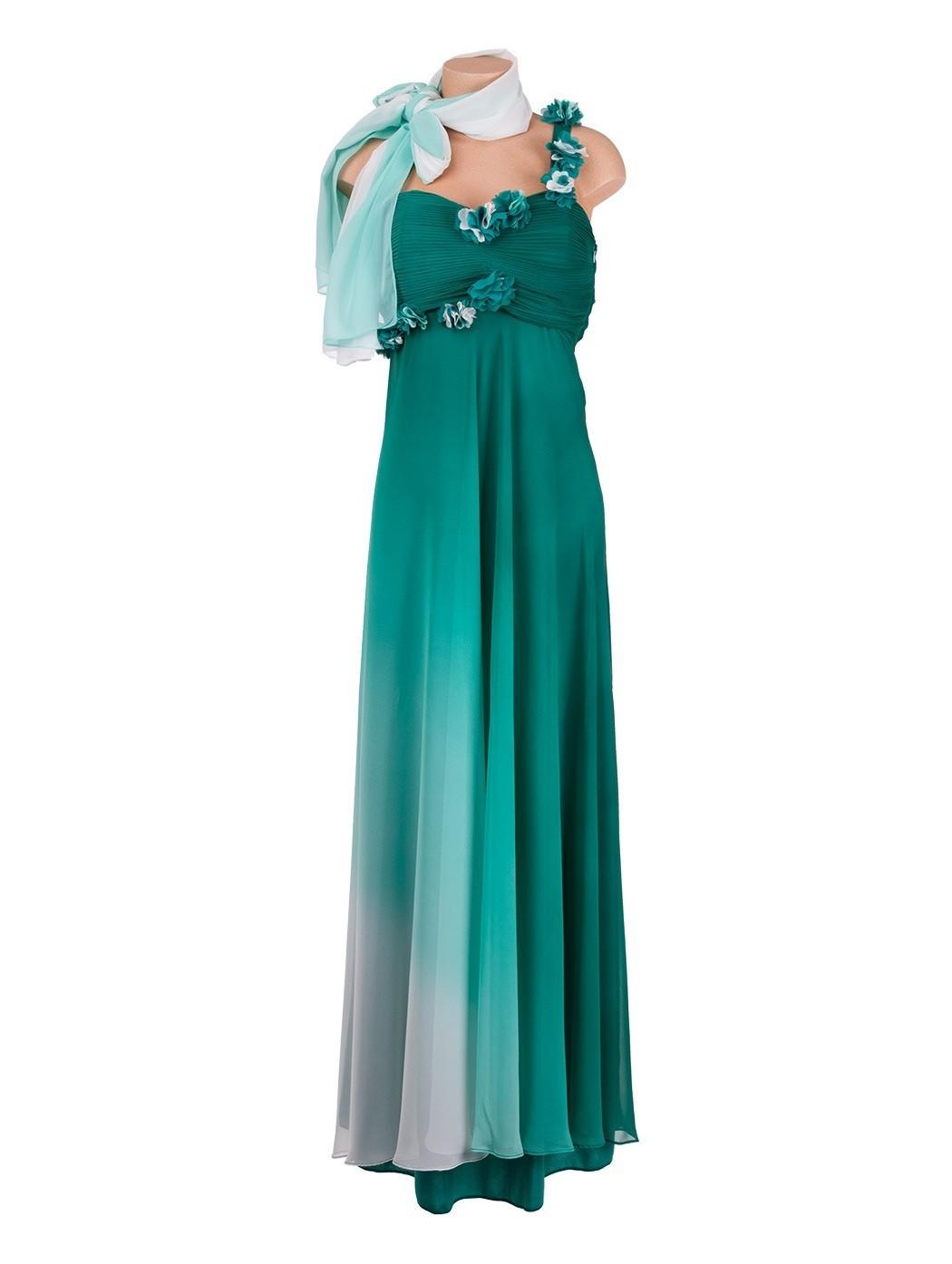 Luca Giordani one shoulder dress