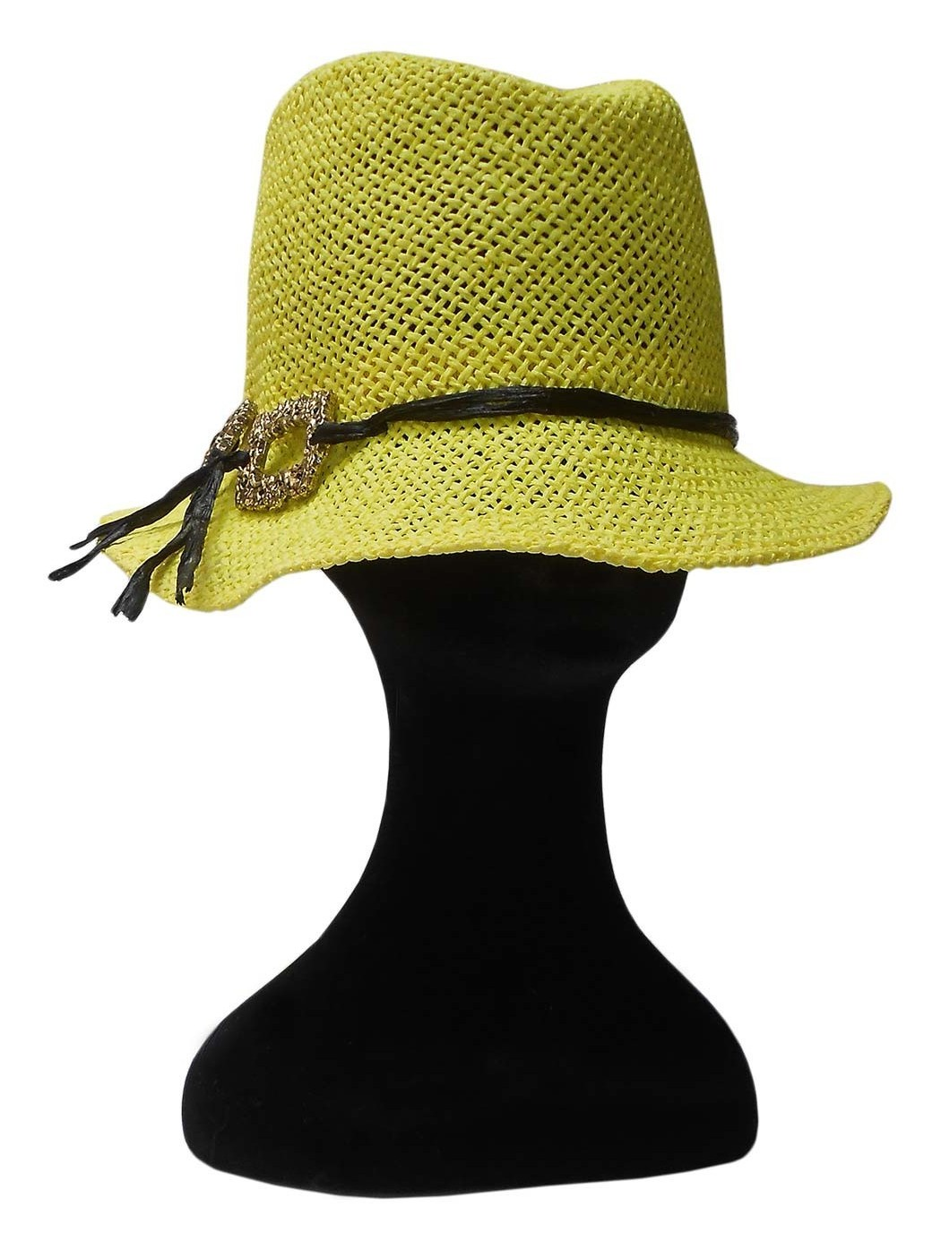 Borsalino in paglia giallo*