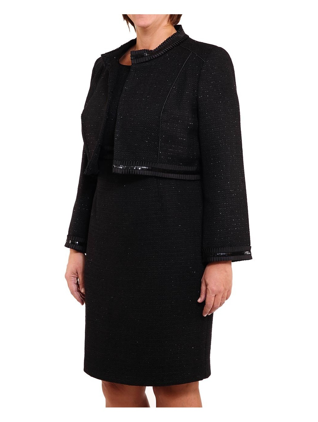 Sonia Peña dress and jacket