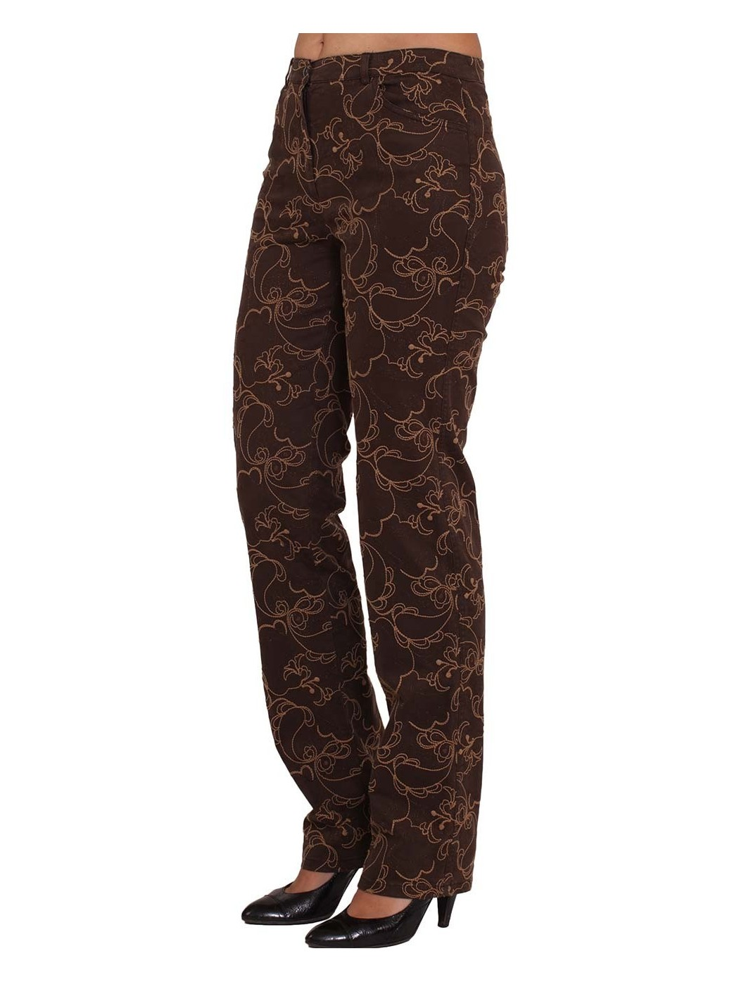 Pucci embroidered trousers