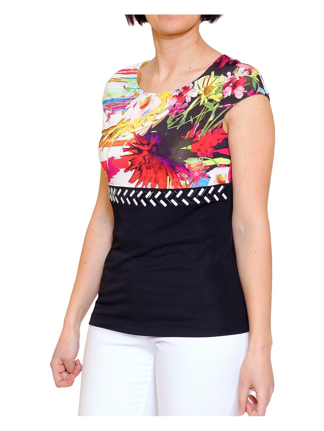 Fuego printed top