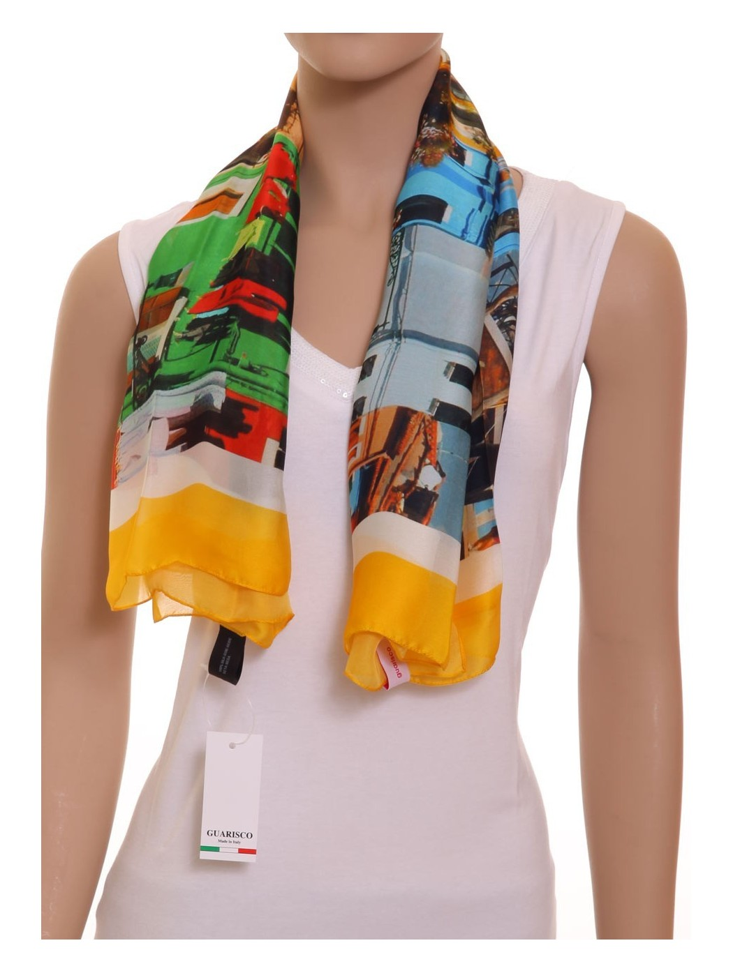 Foulard seta Guarisco
