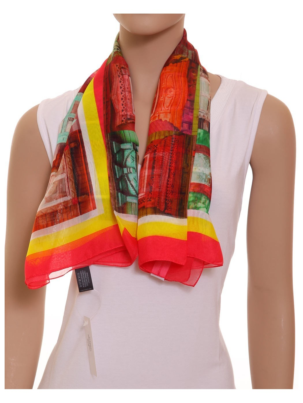 Foulard seta fantasia Guarisco