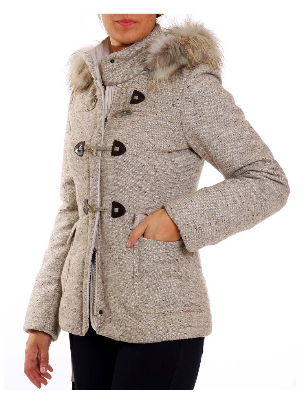 Tweed Padded Jacket