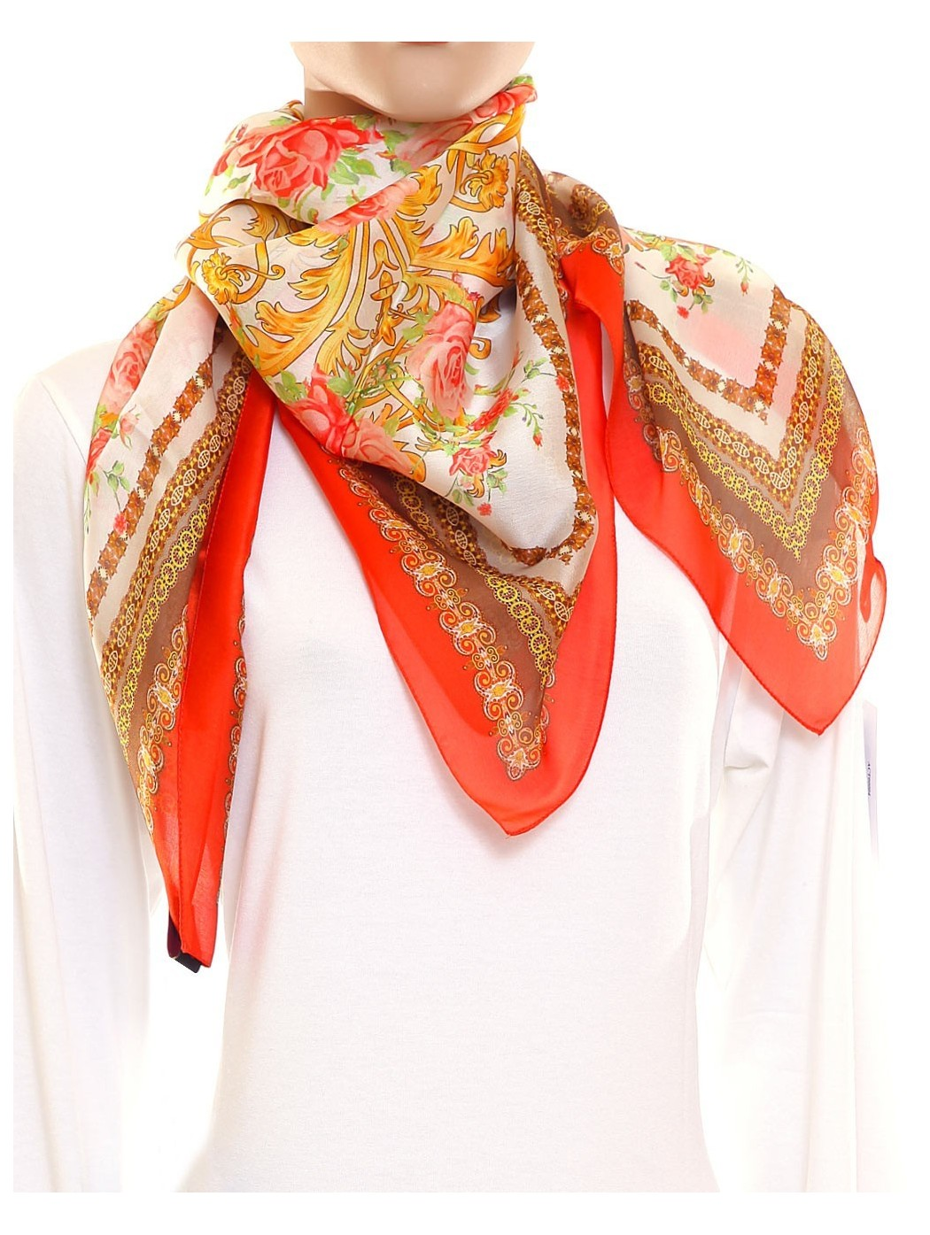 Foulard in chiffon Guarisco