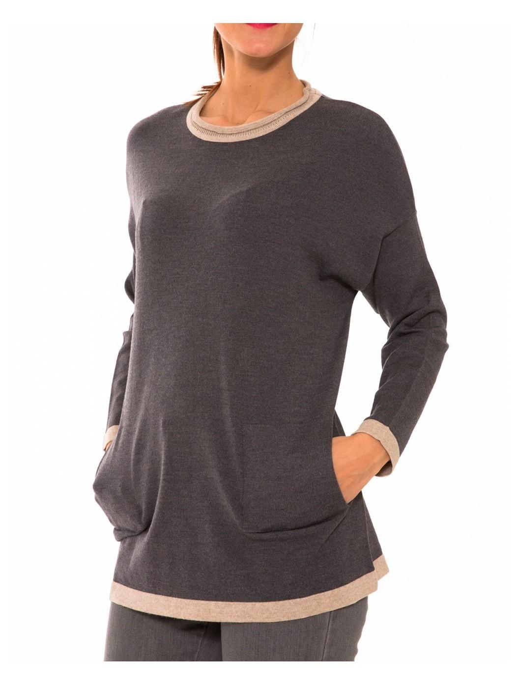 Blusa in lana Calaluna