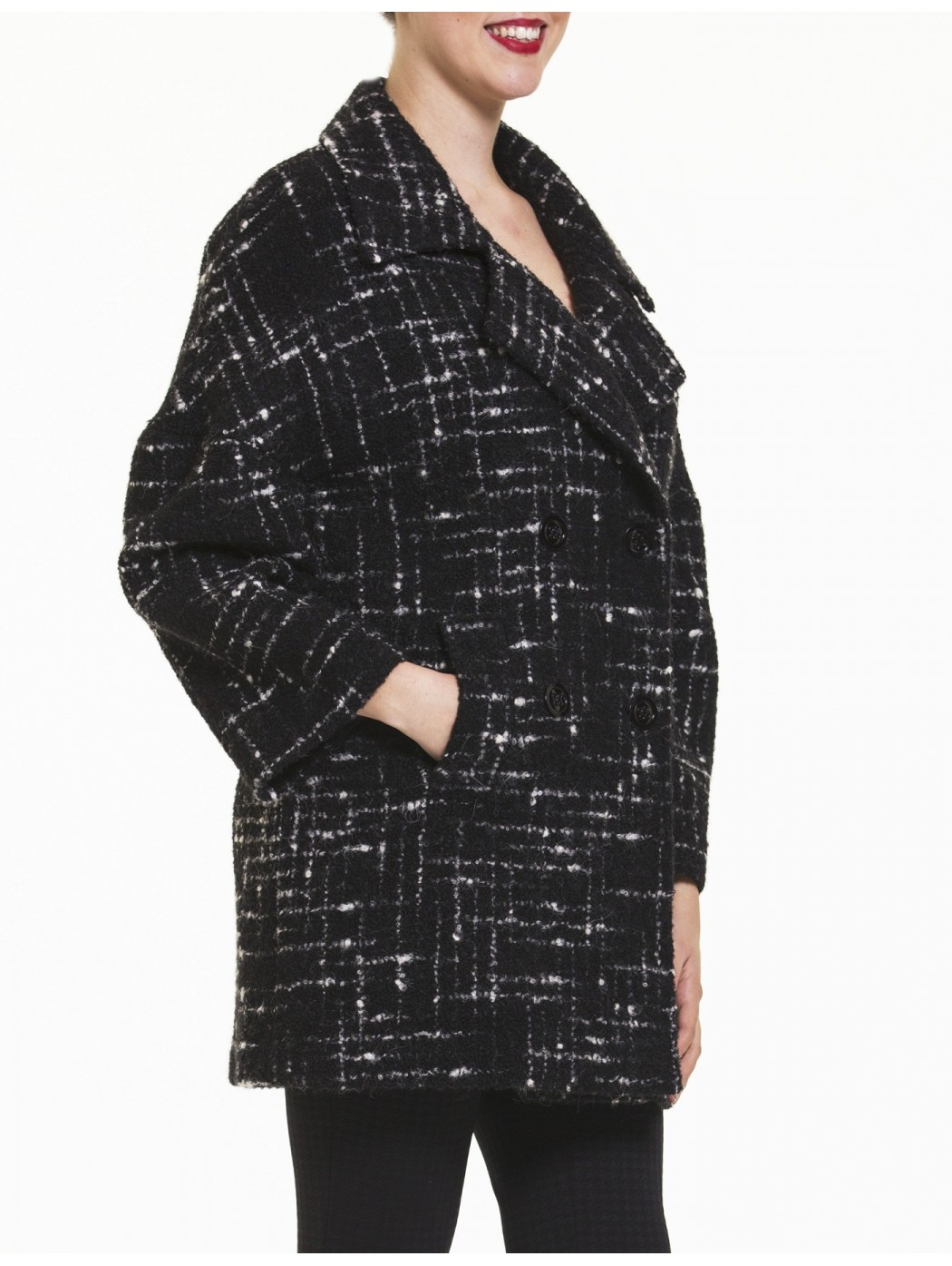 Giacca doppio petto Laura Caponi Soft Couture