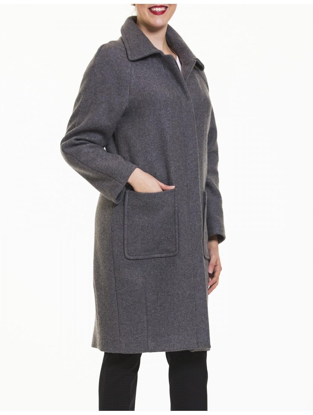 Manteau gris Calaluna