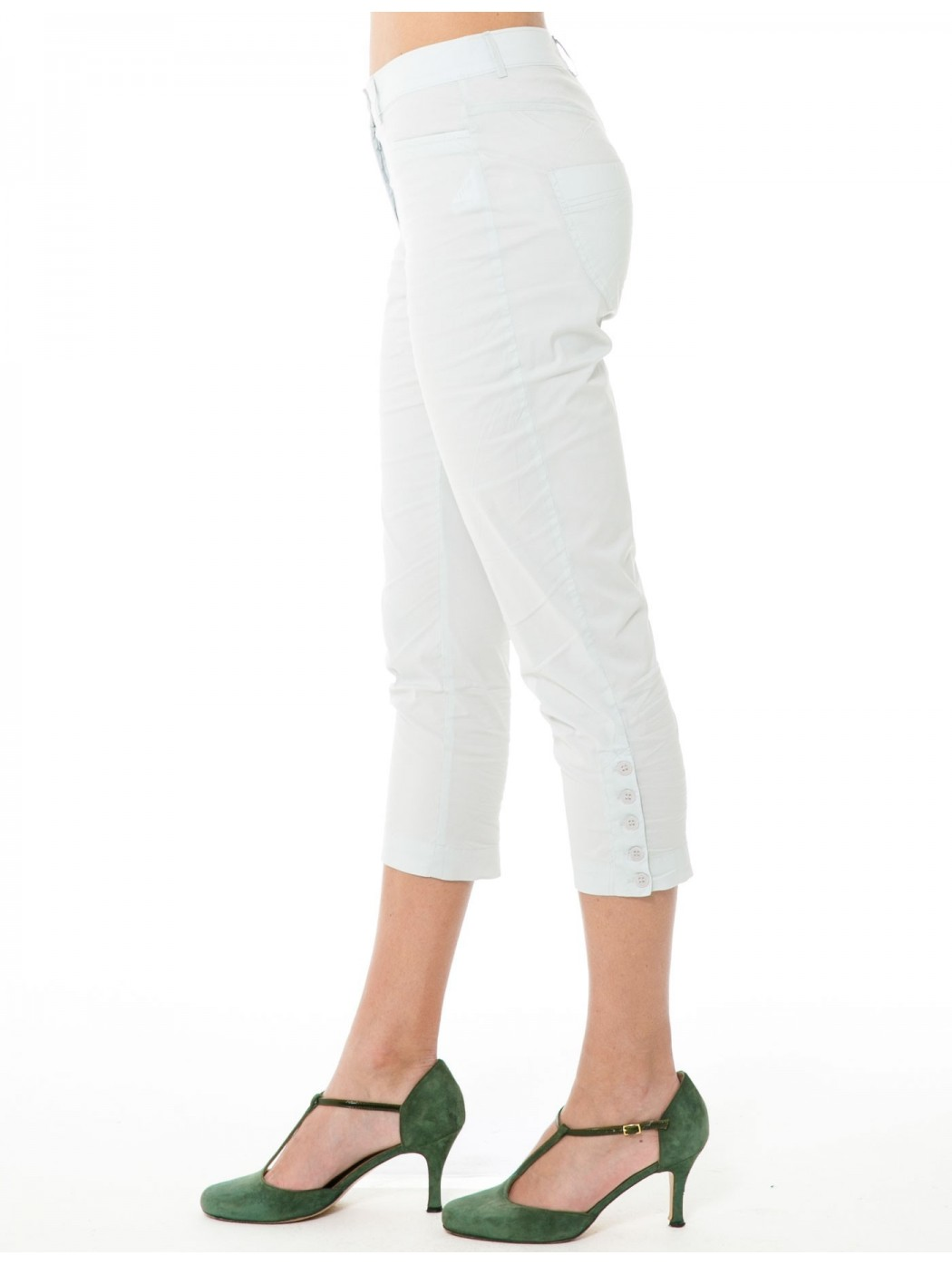 Aventures des toiles pearl grey trousers