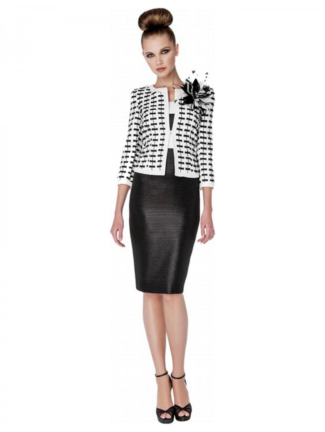 Completo abito e giacca Sonia Pena Couture 1181010