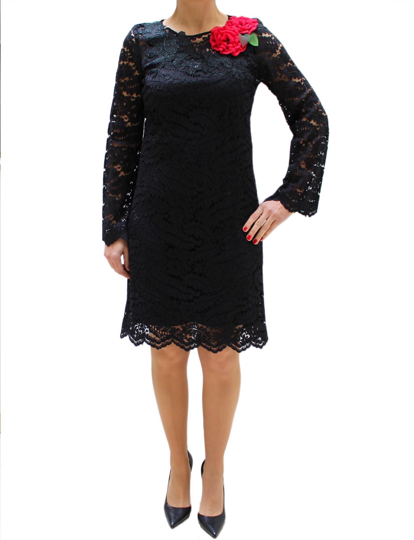 online retailer b0c70 e2031 Piero Moretti Bodycon lace black dress