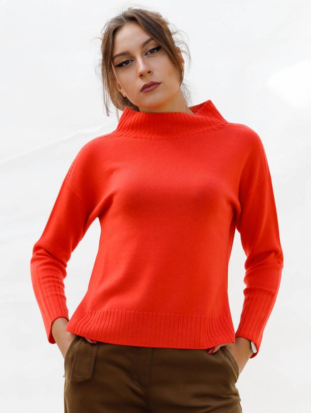 Riva Tricot orange wool...