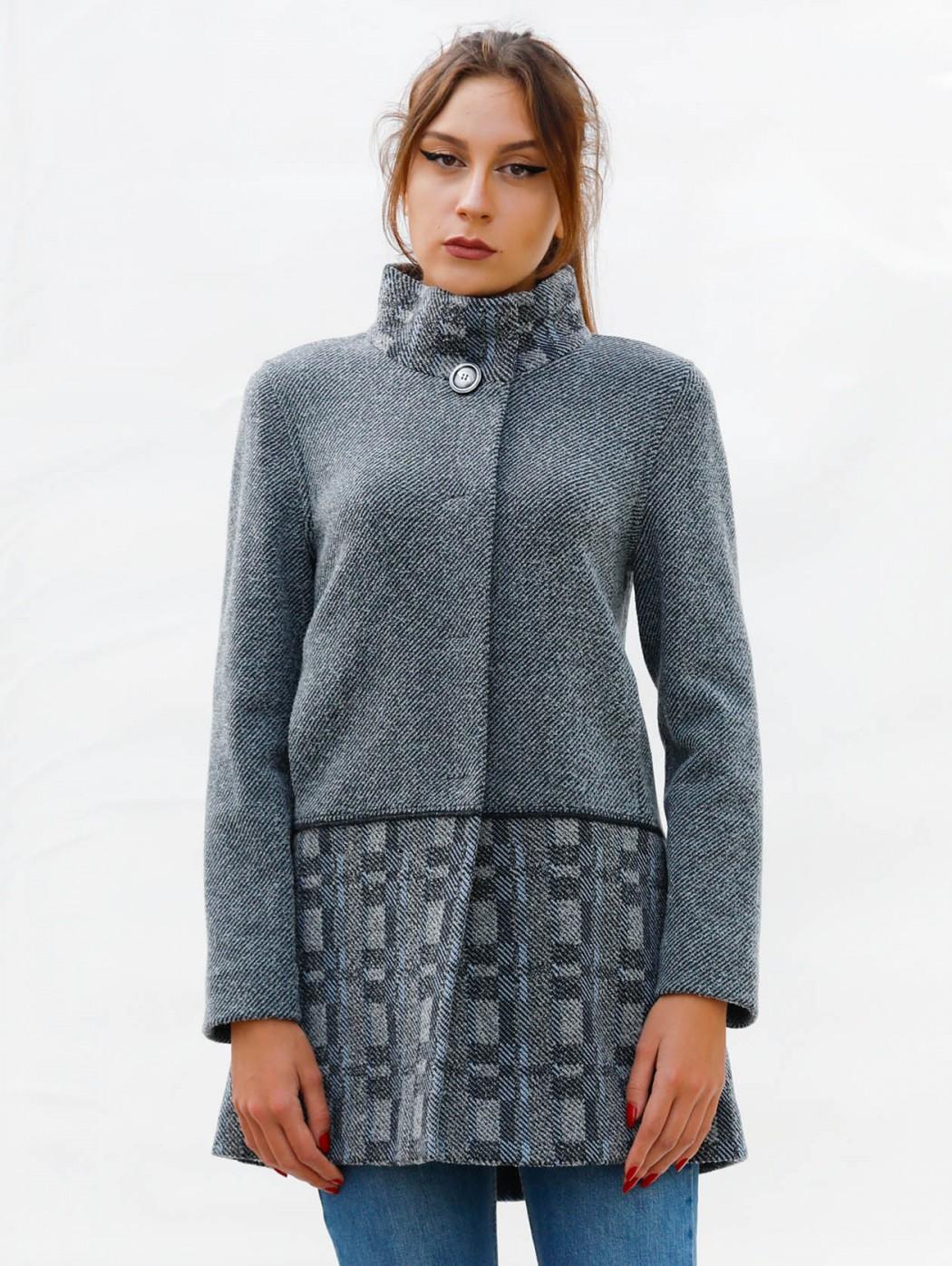 Cappotto maglia di lana...