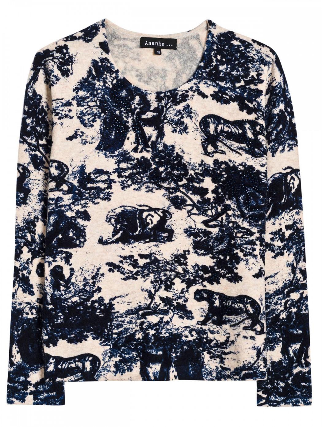 Maglia pullover lana a...
