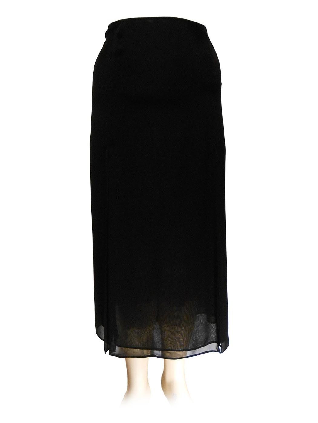 Hella chiffon skirt