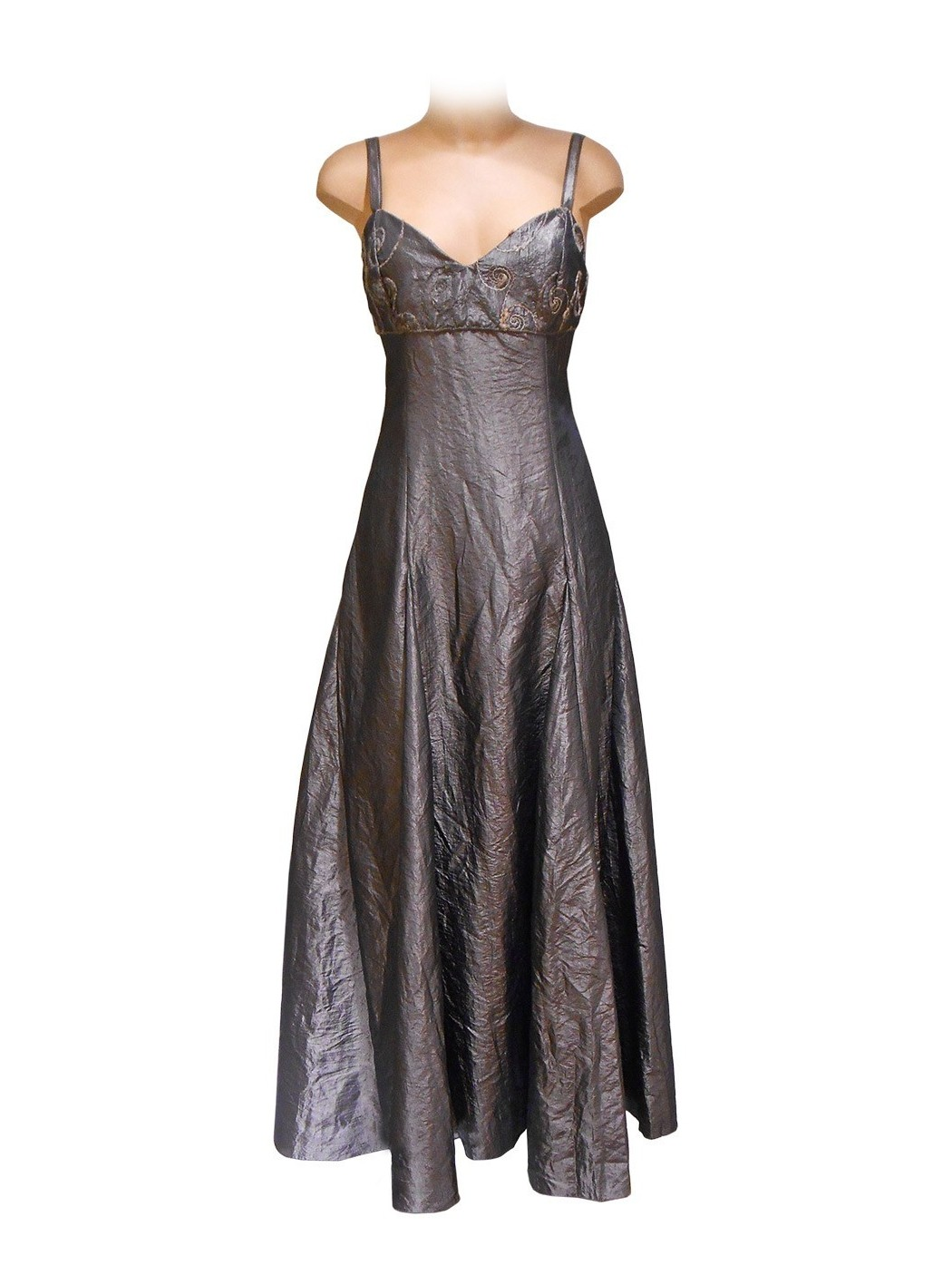 Taffeta long dress