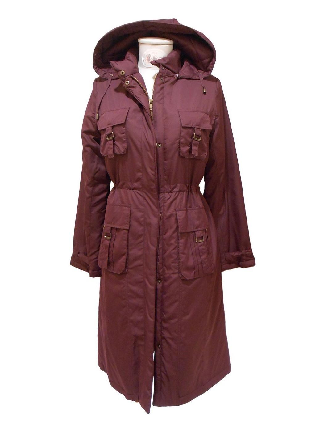 Padded long jacket by Paul...