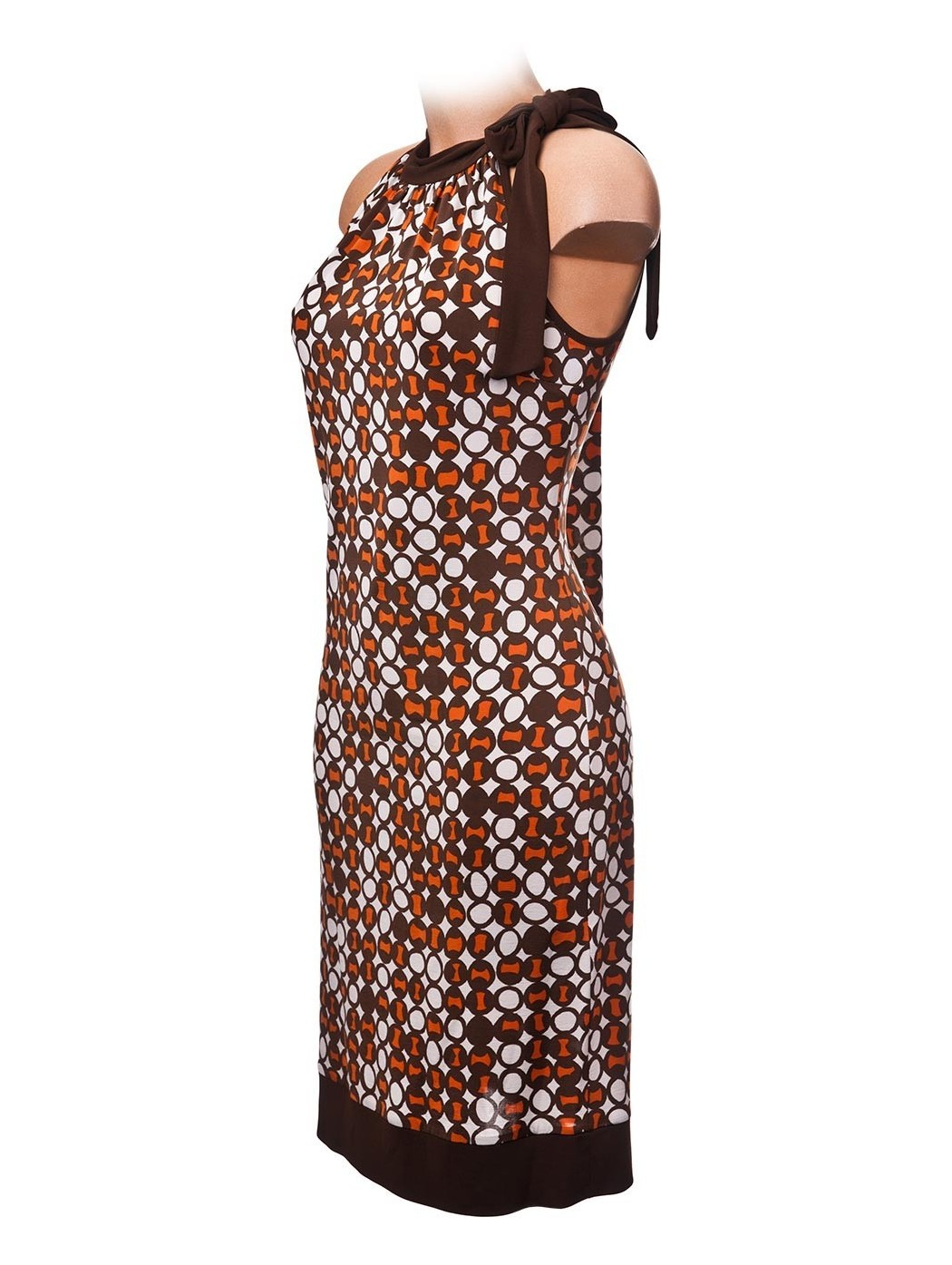 Halter neckline dress