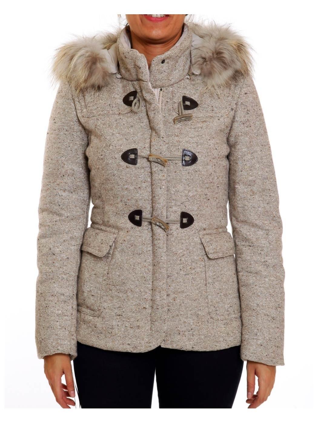 Tweed Padded Jacket