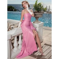 Abito lungo rosa Sonia Peña