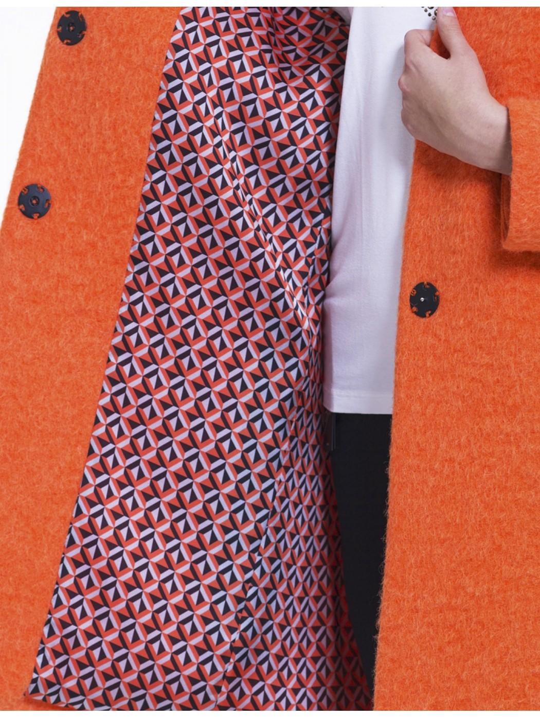 Cappotto arancio Laura Caponi Soft Couture