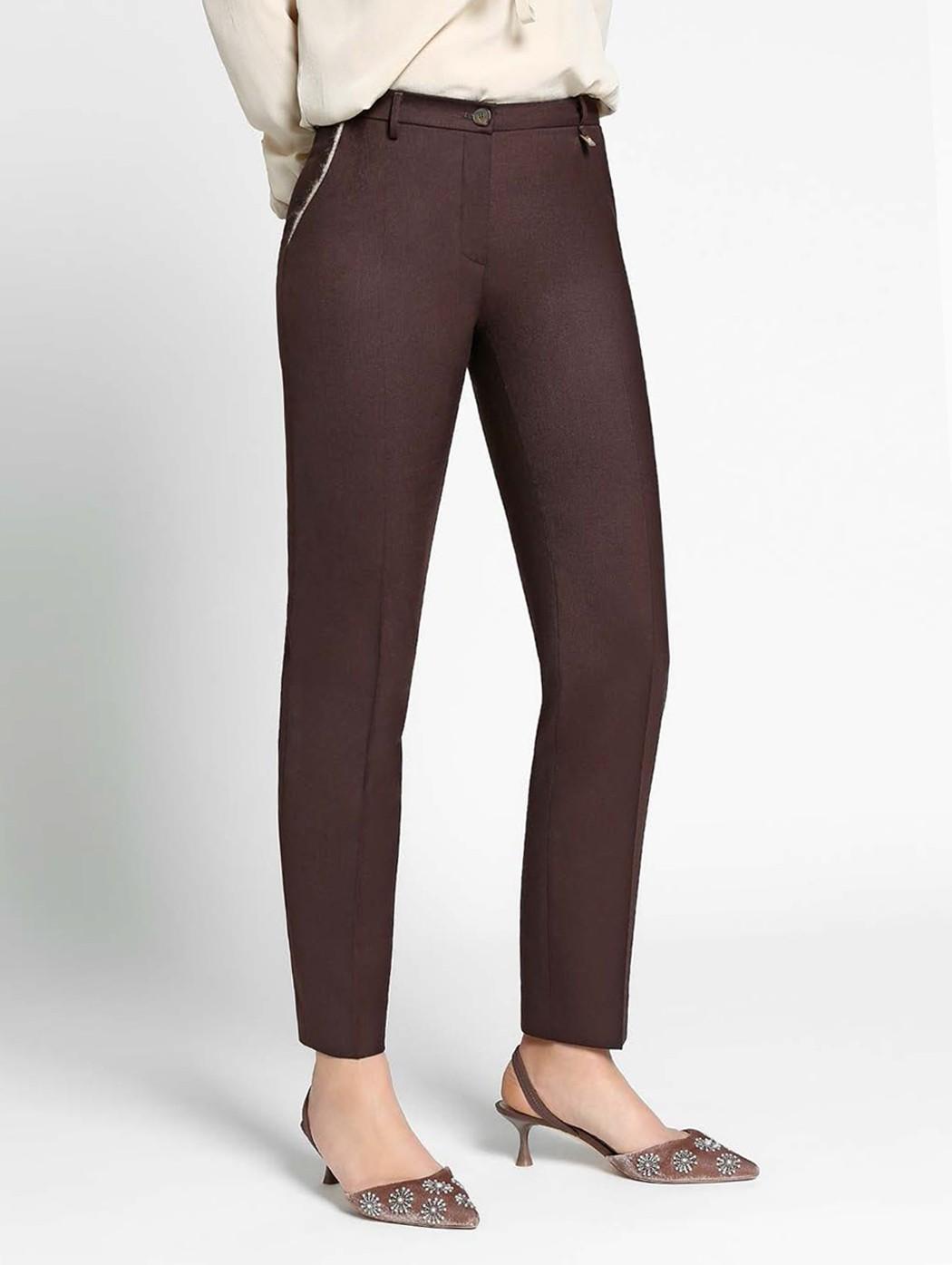 Pantalone donna lana...