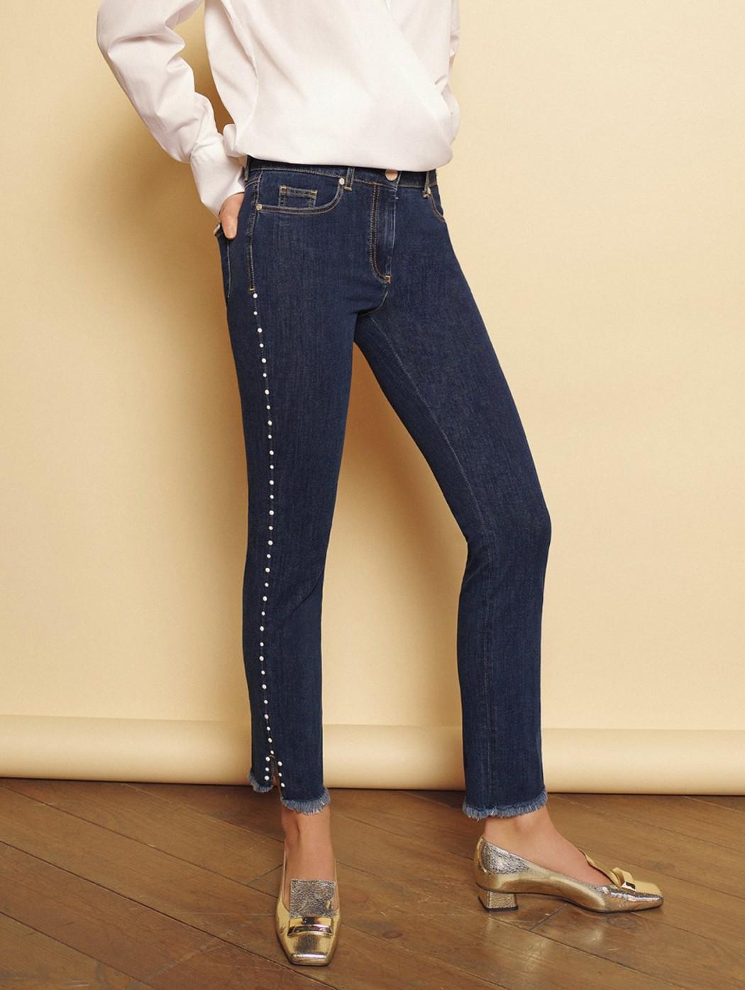 Pantalone corto jeans denim...