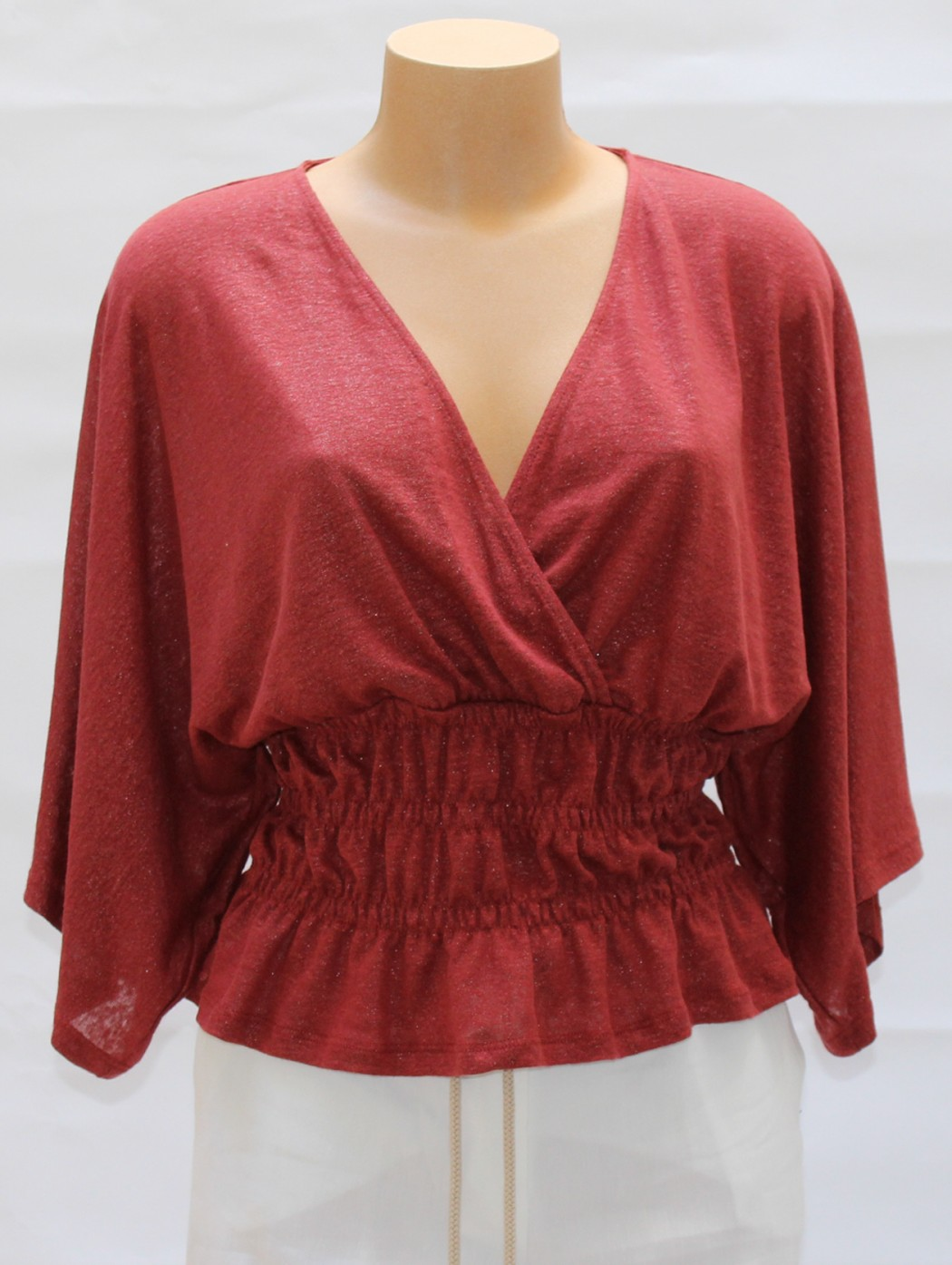 Amethist dark red short...
