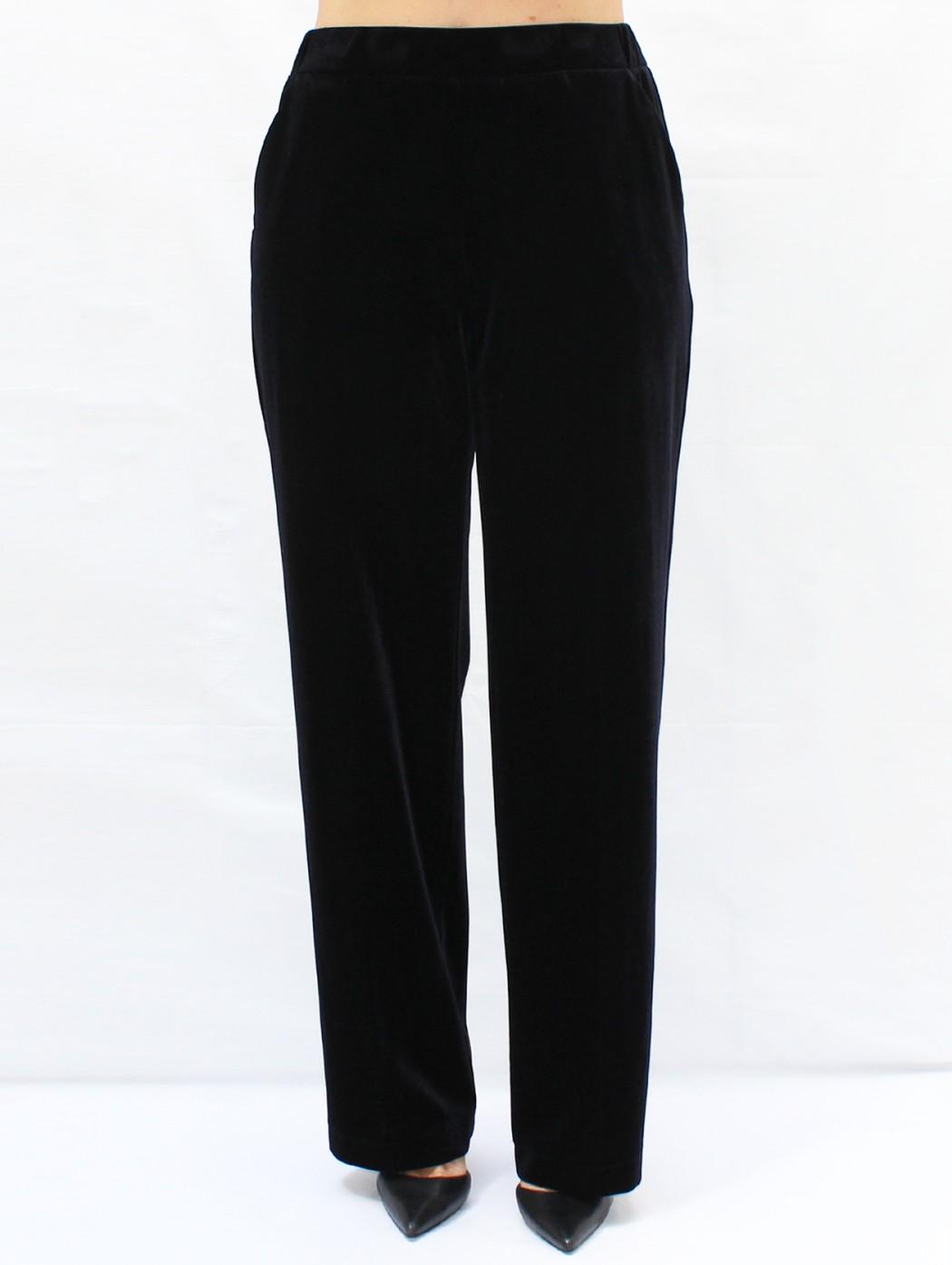 Pantaloni eleganti velluto...