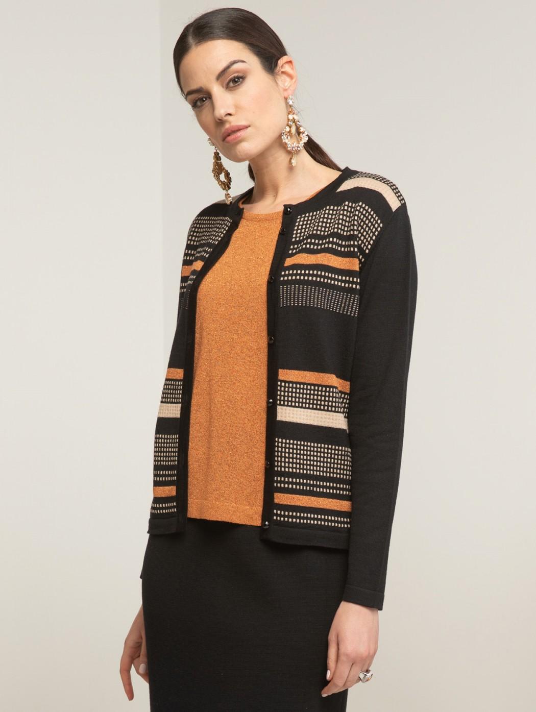 Twinset geometrico lana...