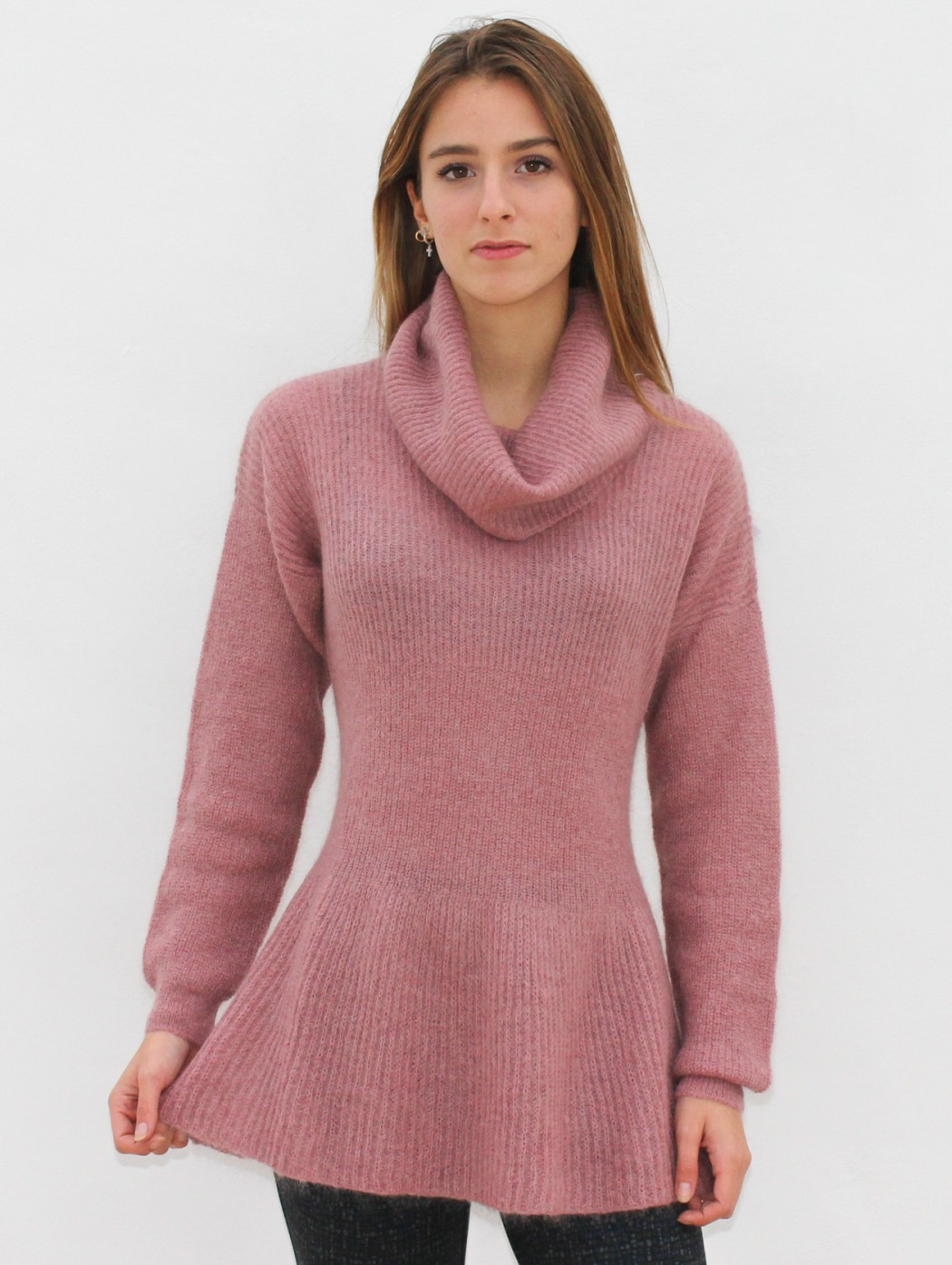 Musetti mohair wool knitted...