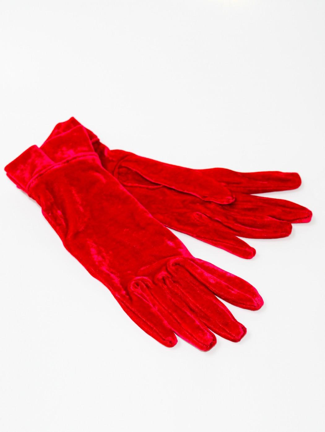 Elegant Italian red velvet...
