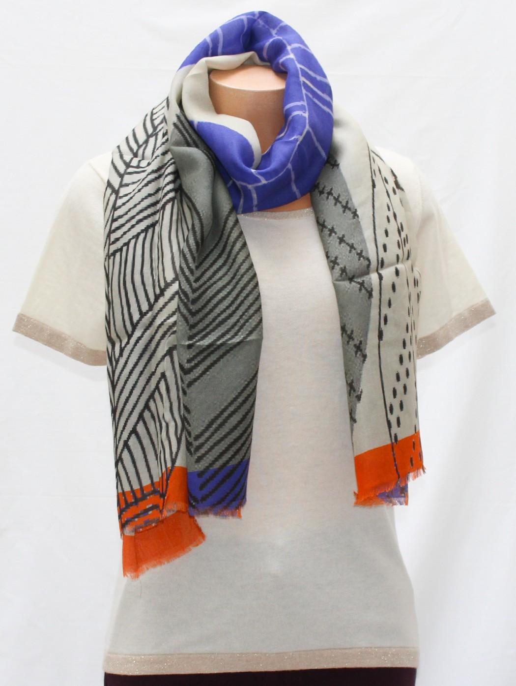 Marina D'Este Wool scarf...