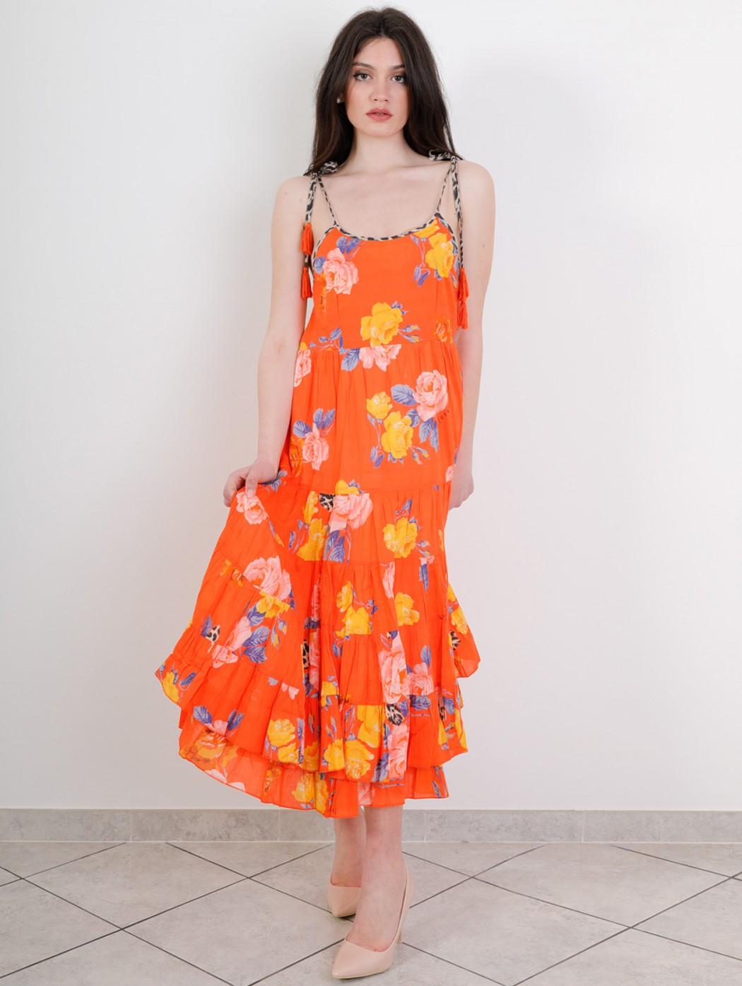 Fuego Woman Orange cotton...
