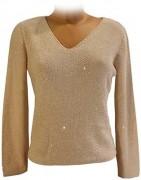 vendita on line maglieria con collo a v scollatura a V maglie t-shirts
