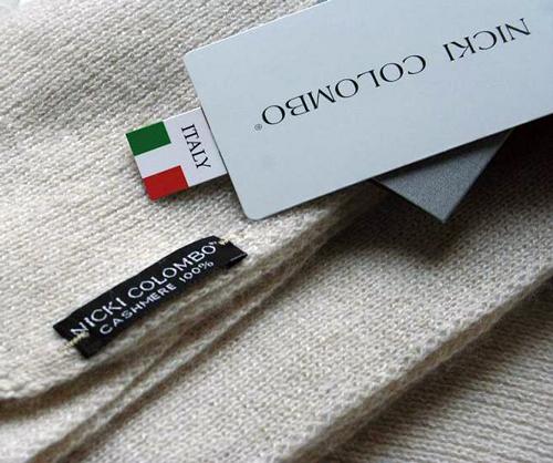 Tessitura la colombina Nicki Colombo maglificio Badoere sciarpe cashmere